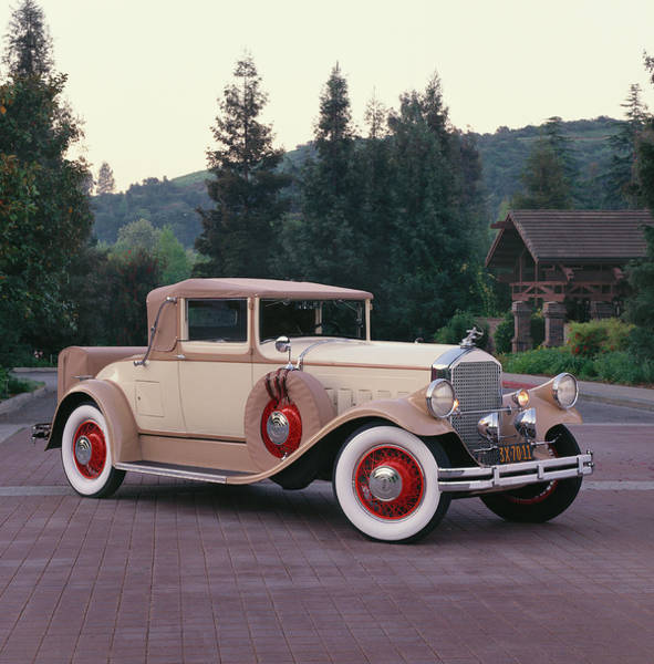 Car Part Photograph - 1929 Pierce-arrow Model 133 Convertible by Car Culture