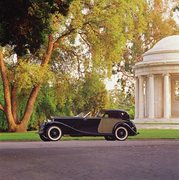 Customized Photograph - 1929 Rolls Royce Town Car Phantom II by Car Culture