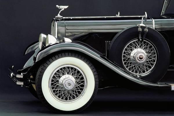 Car Part Photograph - 1930 Dupont Royal Town Car by Car Culture