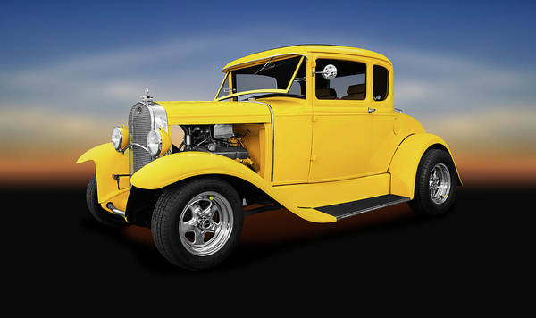 Wall Art - Photograph - 1930 Ford 5 Window Coupe  -  1930fivewindowfordcoupe140420 by Frank J Benz