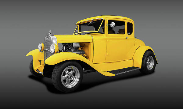 Wall Art - Photograph - 1930 Ford 5 Window Coupe  -  1930ford5windowcoupefa140420 by Frank J Benz