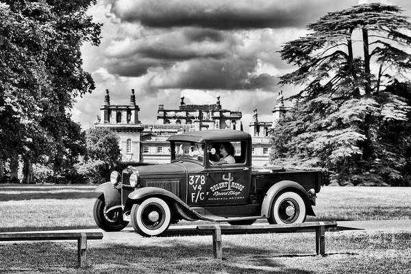 Photograph - 1930 Ford Pickup Truck At Blenheim Palace by Tim Gainey