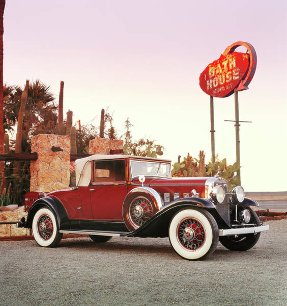 Insurance Photograph - 1931 Lasalle Convertible Coupe by Car Culture