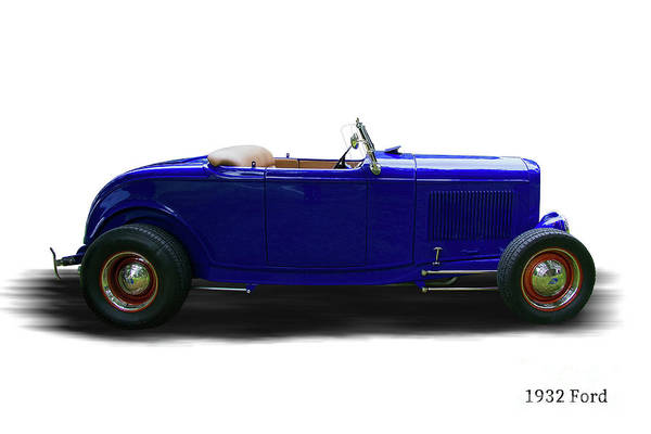 Wall Art - Photograph - 1932 Ford Hot Rod Convertible by Nick Gray