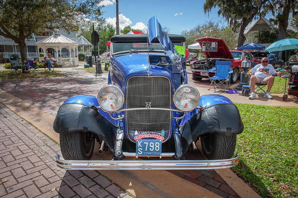 Wall Art - Photograph - 1932 Ford Model 18 V8 Convertible 101 by Rich Franco