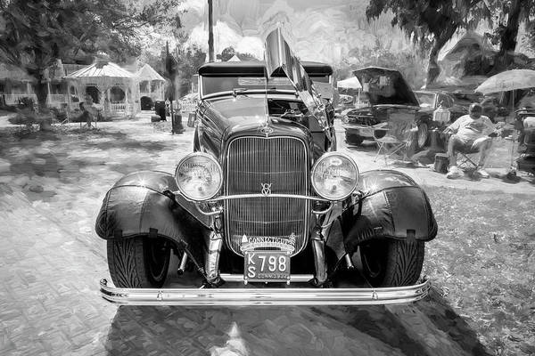 Wall Art - Photograph - 1932 Ford Model 18 V8 Convertible 104 by Rich Franco