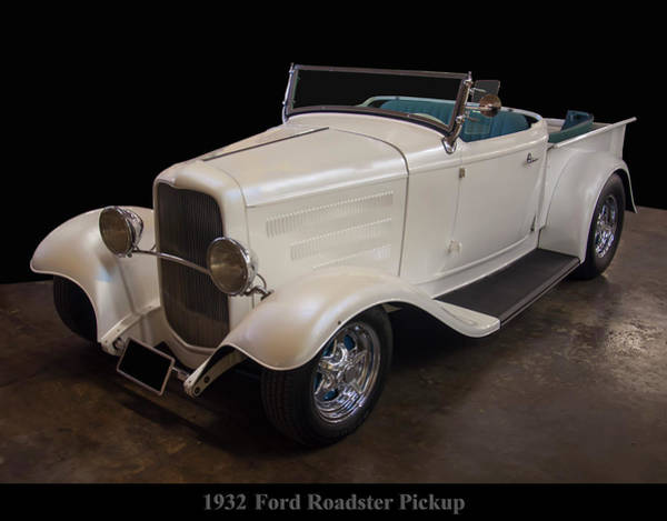 Photograph - 1932 Ford Roadster Pickup by Chris Flees