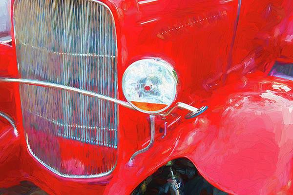 Photograph - 1932 Ford Tudor Sedan 005 by Rich Franco