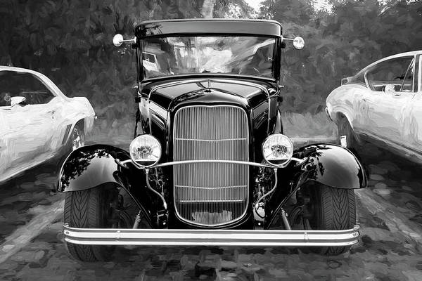 Photograph - 1932 Ford Tudor Sedan 006 by Rich Franco