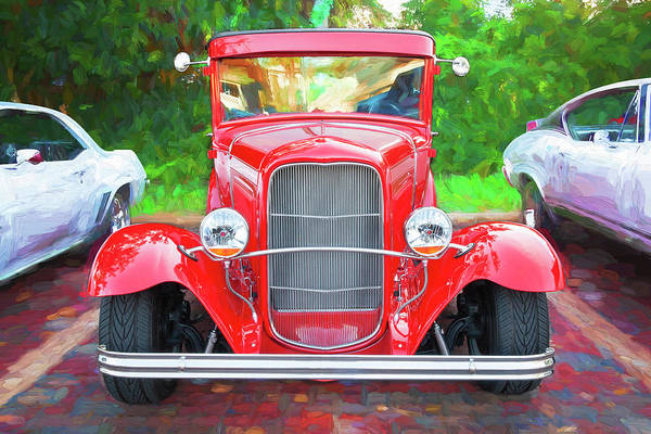 Photograph - 1932 Ford Tudor Sedan 008 by Rich Franco
