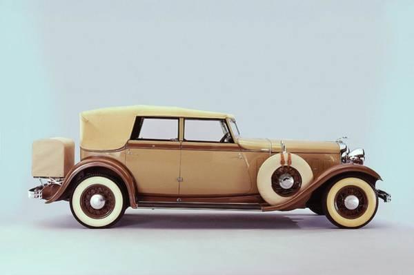 Car Part Photograph - 1932 Lincon Convertible Sedan Body By by Car Culture