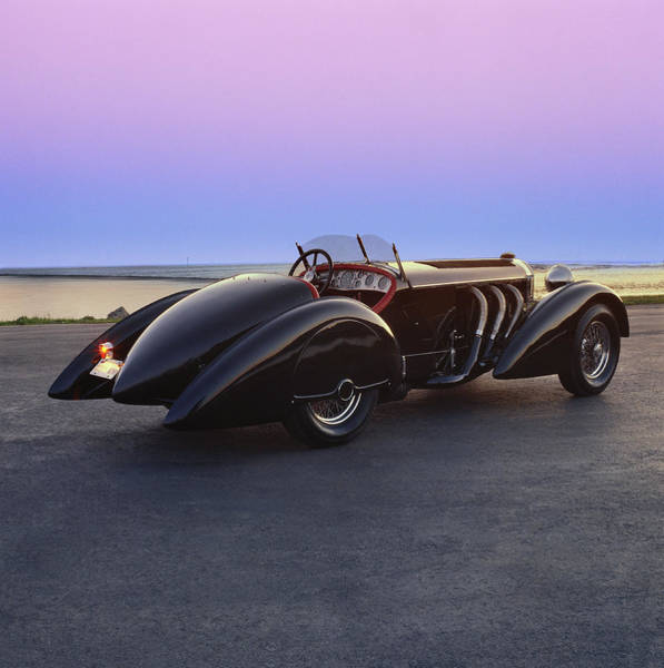 Insurance Photograph - 1932 Mercedes Benz Type Ssk Body By by Car Culture