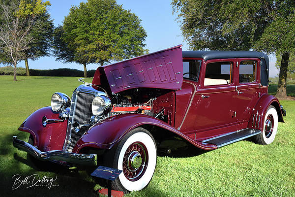 Photograph - 1933 Chrysler Imperial by Bill Dutting