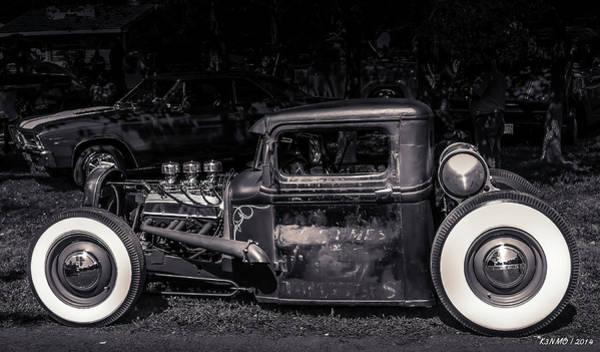 Digital Art - 1934 Ford Pickup Hot Rod by Ken Morris