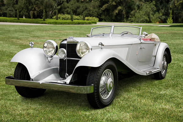 Sport Car Photograph - 1934 Mercedes-benz 380k Roadster by Car Culture