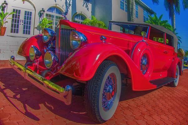 Wall Art - Photograph - 1934 Packard Outside Shangri-la by Don Columbus