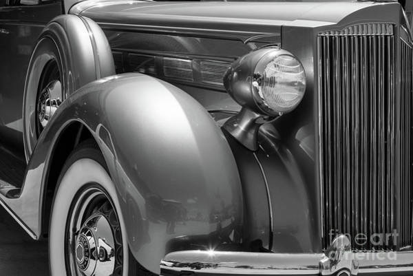 Photograph - 1934 Packard by Paul Quinn
