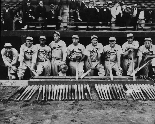 Major League Baseball Photograph - 1934 St. Louis Cardinals by Fpg