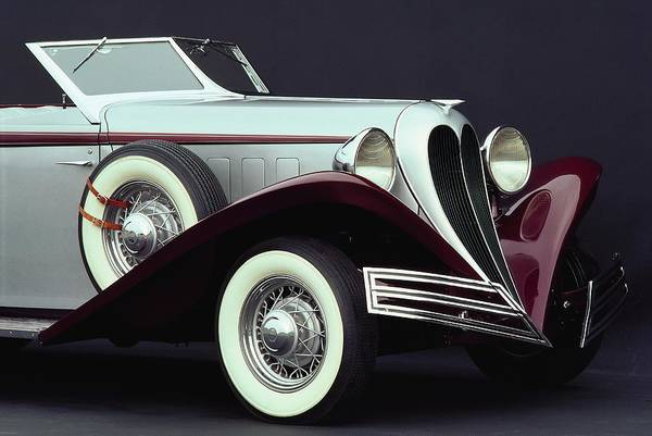 Insurance Photograph - 1935 Brewster Convertible Coupe With by Car Culture