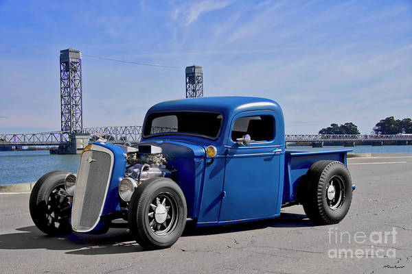Wall Art - Photograph - 1935 Chevrolet 'short Bed' Pickup by Dave Koontz