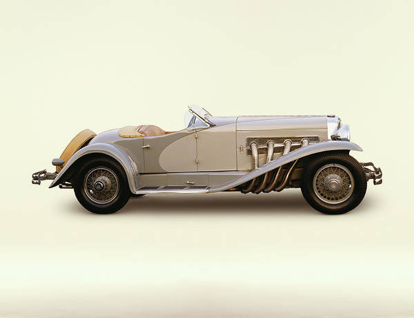 Sport Car Photograph - 1935 Duesenberg Model Sj Short Wheelbase by Car Culture