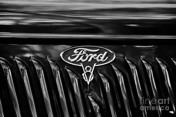 Wall Art - Photograph - 1936 Ford Pick Up V8 by Tim Gainey