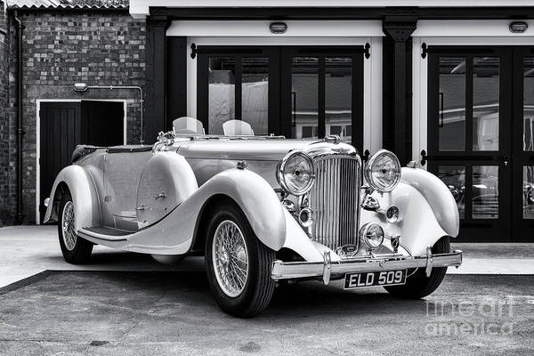 Photograph - 1936 Lagonda Lg45 Tourer  by Tim Gainey