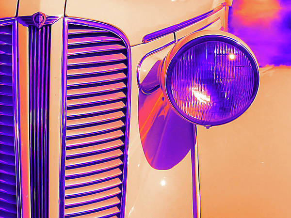 Photograph - 1937 Dodge Glowing by David King