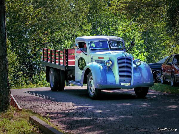 Photograph - 1938 Diamond T Stakebed Truck by Ken Morris