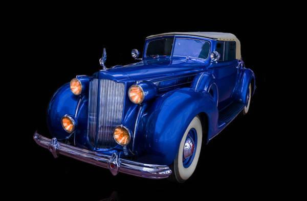 Photograph - 1938 Packard Horizontal by TL Mair