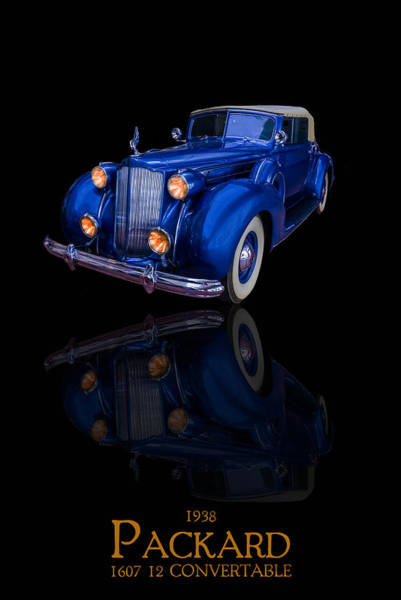 Photograph - 1938 Packard by TL Mair