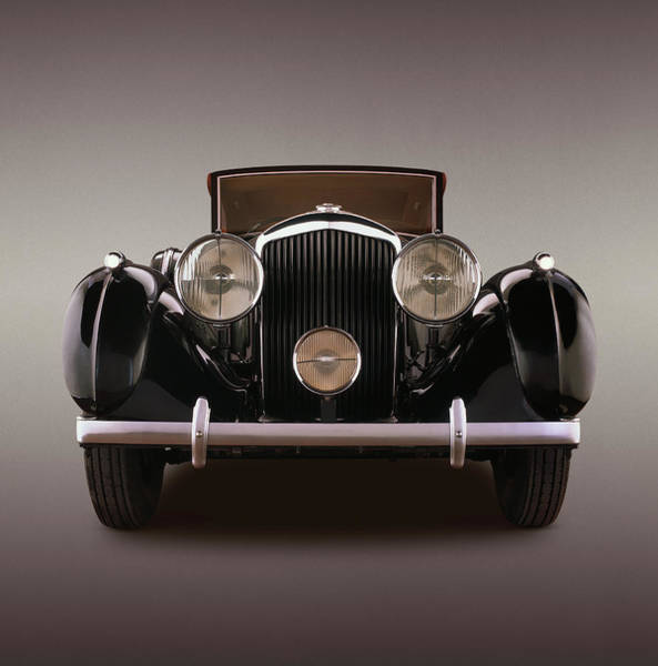 Black Car Photograph - 1939 Bentley 4 14 Litre Overdrive, With by Car Culture