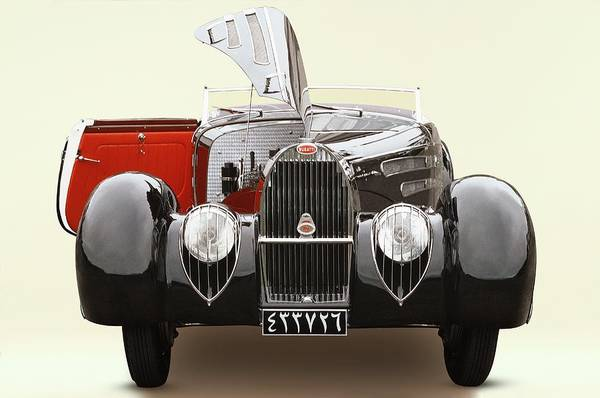 Insurance Photograph - 1939 Bugatti Type 57c Atalante by Car Culture