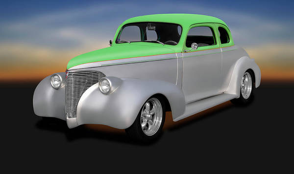 Wall Art - Photograph - 1939 Chevrolet 5 Window Coupe  -  1939cheverolet5windowcoupe197758 by Frank J Benz