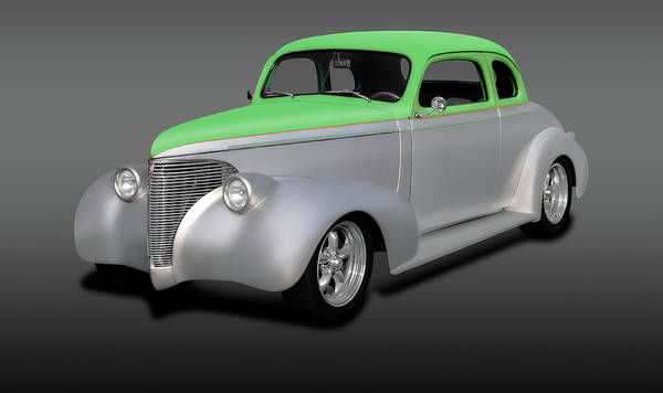 Wall Art - Photograph - 1939 Chevrolet 5 Window Coupe  -  1939chevroletcoupe5winfa197758 by Frank J Benz