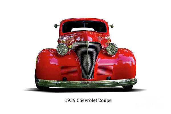 Wall Art - Photograph - 1939 Chevrolet Coupe 2 Door by Nick Gray
