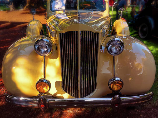 Photograph - 1939 Packard 120 by Thomas Hall