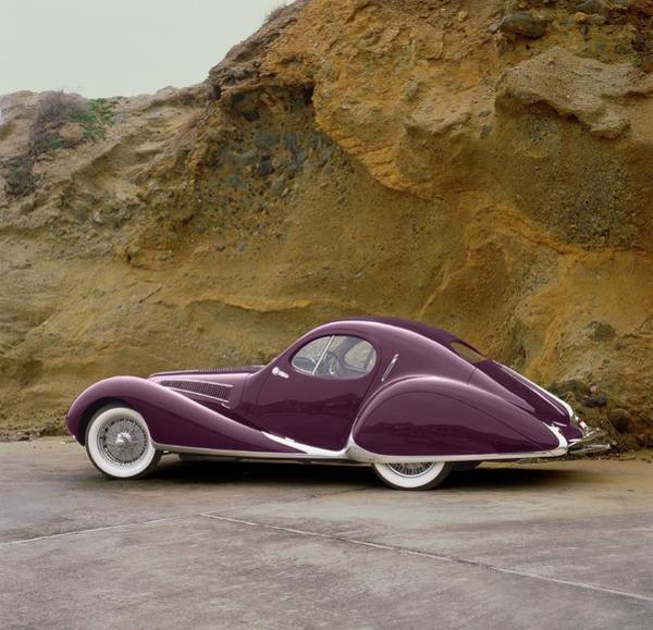 Sport Car Photograph - 1939 Talbot-lago Model T 150 Ss With by Car Culture