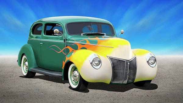 Wall Art - Photograph - 1940 Ford Coupe by Mike McGlothlen