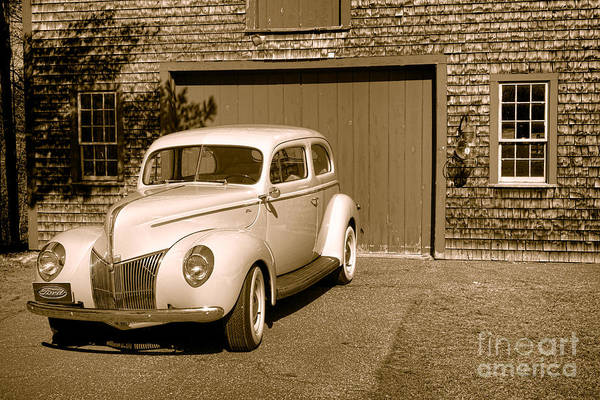 Photograph - 1940 Ford Deluxe Coupe by Olivier Le Queinec