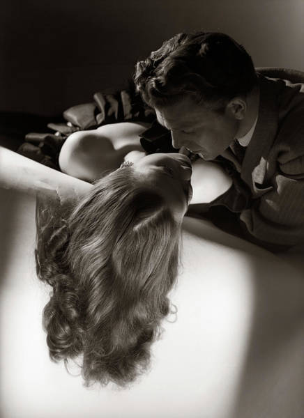 Passionate Photograph - 1940s 1950s Anonymous Silhouetted by Panoramic Images