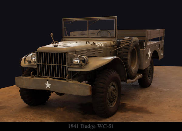 Photograph - 1941 Dodge Wc-51 by Chris Flees