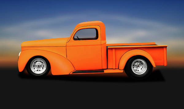 Wall Art - Photograph - 1941 Willys Pickup Truck  -  1941willyspickuptruckstreetrod176868 by Frank J Benz