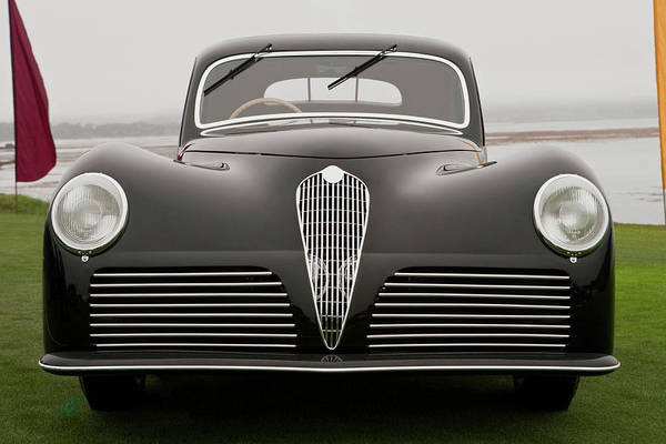 Sport Car Photograph - 1942 Alfa Romeo 6c 2500 Ss by Car Culture