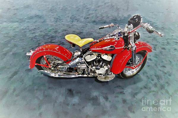 Wall Art - Photograph - 1942 Harley-davidson Motorcycle by Suzanne Wilkinson
