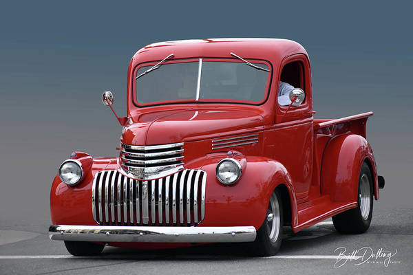 Photograph - 1946 Chevrolet Pickup by Bill Dutting