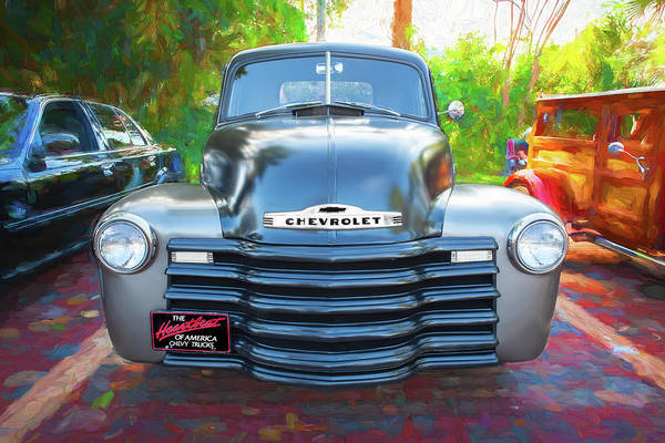 Photograph - 1947 Chevrolet 3100 Pickup Truck 103 by Rich Franco