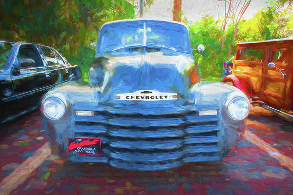 Photograph - 1947 Chevrolet 3100 Pickup Truck 104 by Rich Franco