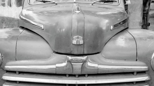 Photograph - 1947 Ford Super Deluxe Coupe 003 by Rich Franco