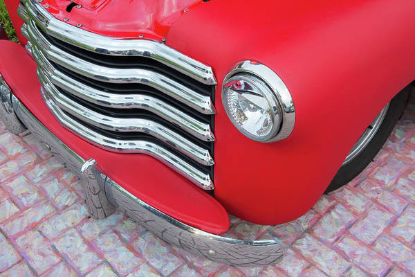Photograph - 1947 Chevrolet 3100 Pickup Truck 106 by Rich Franco